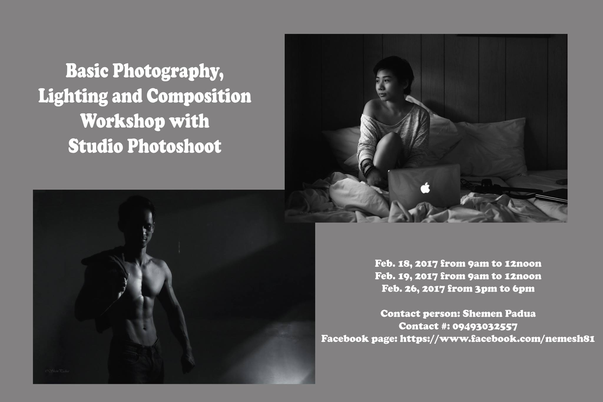 Photography photoshoot workshop